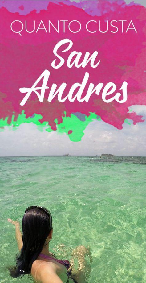 Gastos San Andres Caribe Colombiano | Viagens, Viagem