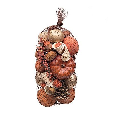 Pumpkin And Pepperberry Clove Scented Filler Harvest Decorations Potpourri Bowl Fillers