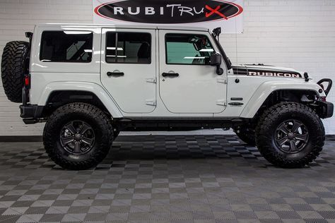 2017 Jeep Wrangler Rubicon Recon Unlimited White Jeep Wrangler