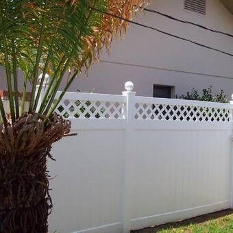 3 5 Ft H X 3 Ft W Zippity Garden Fence Gate Vinyl Privacy Fence Fence Panels Garden Fence Panels