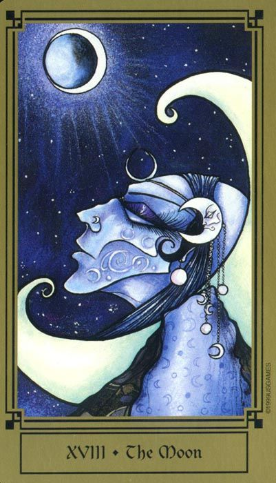 Fantastical tarot the Moon | art and photography in 2019