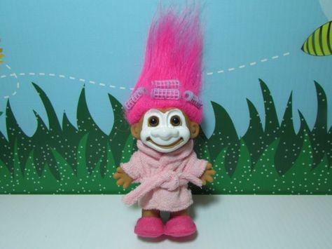 "5/"" Russ Troll Doll NEW IN ORIGINAL WRAPPER I LOVE MOMMY"