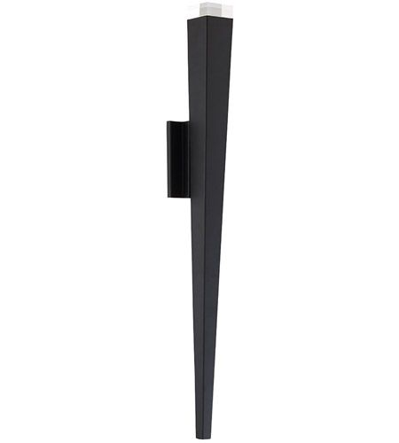 Modern Forms Ws W19732 Bk Staff Led 32 Inch Black Outdoor Wall