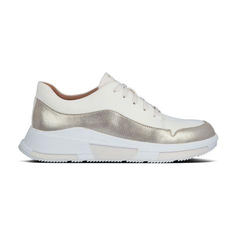 FITFLOP Freya Suede Sneakers - Neutral