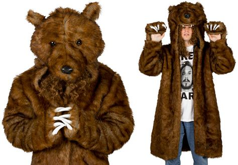 Dress For The Job You Want With The Workaholics Bear Coat  ... see more at InventorSpot.com