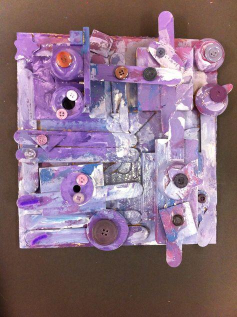 Monochromatic Assemblage  Adaptive Special Needs art