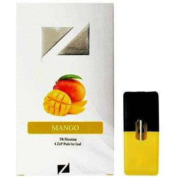 ZiiP Pods For Juul Mango 4pk (40mg) | PODS | Mango, Juice