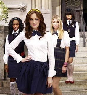 The gorgeous Blair Waldorf 'Gossip Girl' A modern twist on preppy cool!