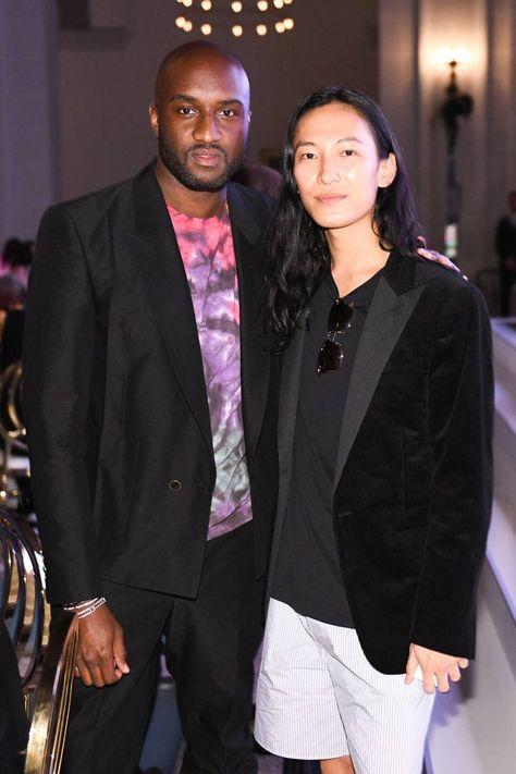 Virgil Abloh and Alexander Wang.