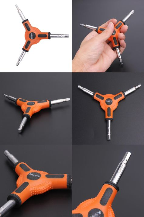 Bike Bicycle Cycling 3 Way Y Type Hex Allen Wrench Tool Size 4 5 6mm Wrench