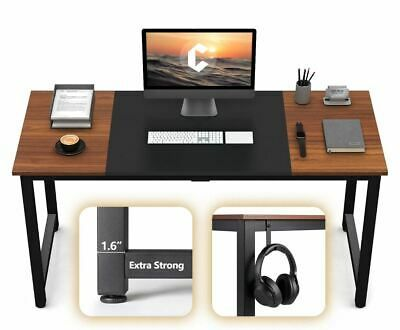 Details About Computer Office Desk 55 Study Writing Table Modern Simple Style Pc Desk Wood In 2020 With Images Office Computer Desk Office Desk