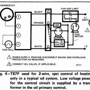Honeywell Thermostat Wiring Diagram 2 Wire : Honeywell