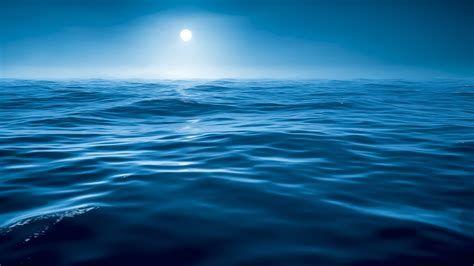 Fonds Décran Télécharger 2560x1440 Nuit Eau Mer Bleu