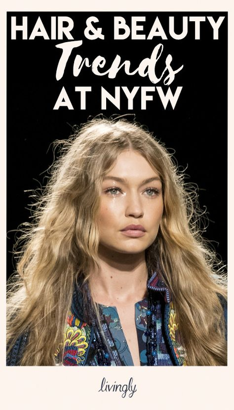 Swoon-Worthy Hair and Beauty Trends at NYFW Spring 2018