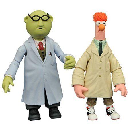 Les Muppets Bunsen et Bécher Action Figures DISNEY DIAMOND SELECT