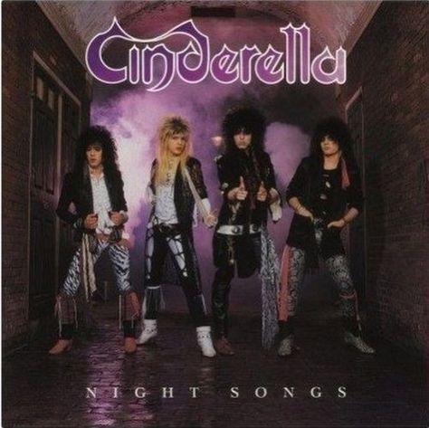 Cinderella Night Songs Lp Record Vinyl Hard Rock