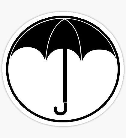 Pegatinas The Umbrella Academy Umbrella Academy Logo Stickers