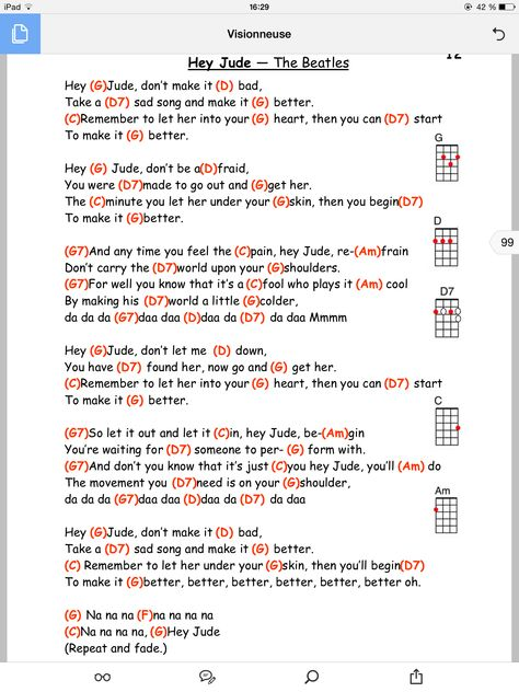 Hey jude Guitar Lesson Pinterest Hey jude, Guitars and Songs - da form
