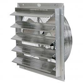 Durafan 20 Select Speed Shutter Fan Exhaust Fan Aluminum Shutters Stud Walls