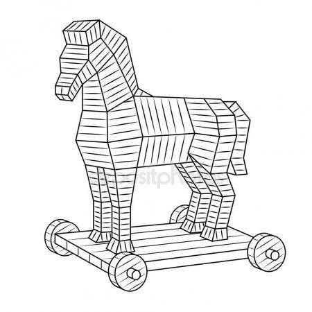 Pin By Juan Treffinger On Arxaia Ellada Horse Coloring Books Coloring Books Horse Coloring