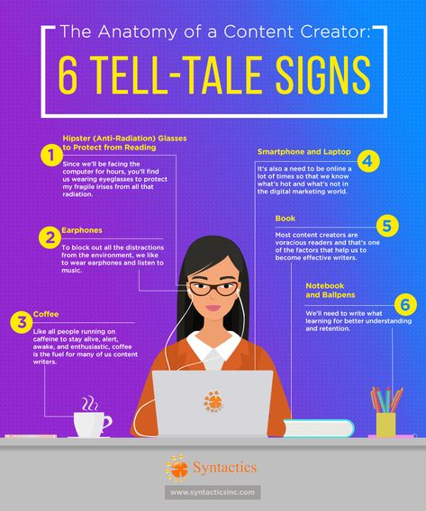 The Anatomy of a Content Creator: 6 Tell-tale signs