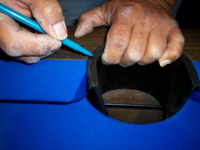 New Pocket Liners Final Step Refelting Your Pool Table Pool