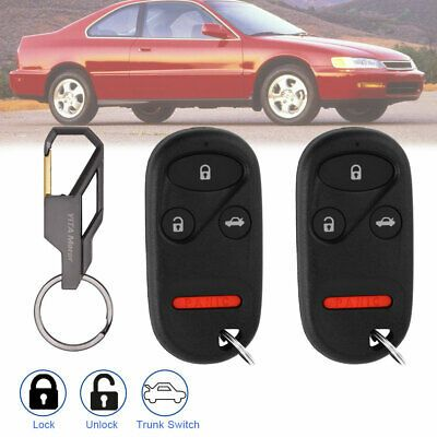 Included 2 Key Fobs With Batteries For Fcc Id Kobutah2t Honda Accord Keyless Entry Car Keyless