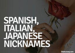 25 Romantic Spanish Italian And Japanese Nicknames For Your Boyfriend Nicknames For Your Boyfriend Names For Boyfriend Pet Names For Boyfriend