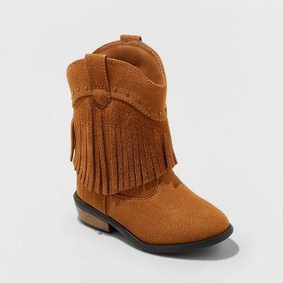 Toddler Girls' Mahogany Western Boot