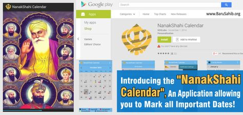 Introducing The Nanakshahi Calendar An Application Which Allows