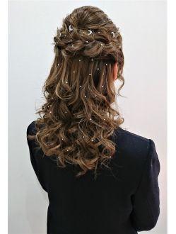 卒業式 彡ハーフアップ ヘアスタイル 髪型 髪 トリートメント