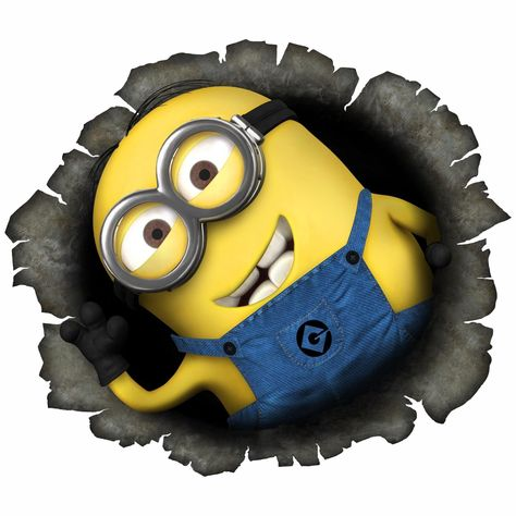 Wall Stickers Minions Despicable Decal Kids Decor Home Mural Art 3 Sizes (M07)