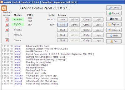 Pembuatan Database Aplikasi Minimarket Java Mysql Aplikasi