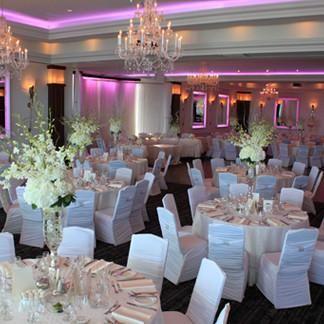 Stylish Wedding Reception Le Crystal In Montreal La Perle