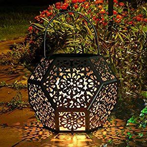 Lanterna Solare Da Giardino Golwof Lanterna Solare Led Lanterna Solare Luci Solari Esterno Decorative Luce Solare D Luci Solari Lanterna Illuminazione Lanterna