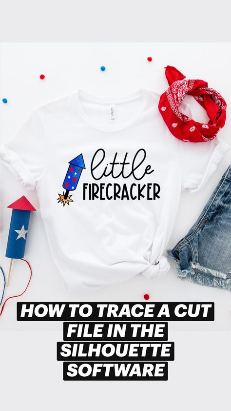 How to Open and Trace a Cut File In The Silhouette Software