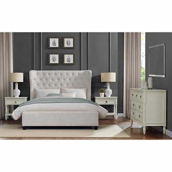 Amalia 4 Piece Queen Bedroom Set Costco Bedroom Sets Furniture