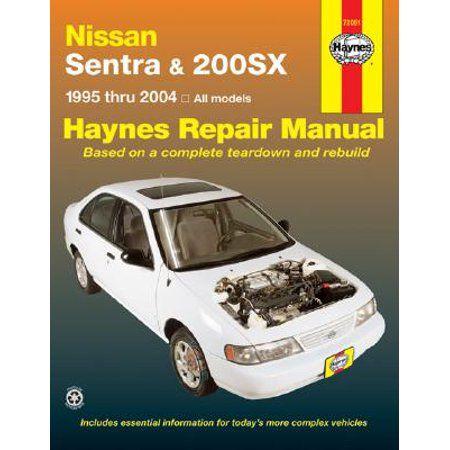 NISSAN SENTRA 200SX SHOP MANUAL HAYNES SERVICE REPAIR BOOK CHILTON