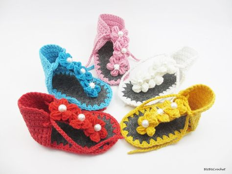 993601abf Click to Buy    Crochet baby sandals