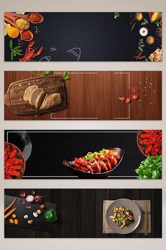 Design Background Banner Makanan - desain spanduk keren