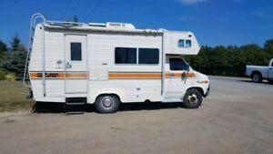 1978 Gmc Vandura 35 Rv 20 Ft Travel Camper Gmc Recreational Vehicles