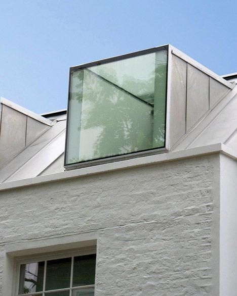 Dachgaube mit Oberlicht