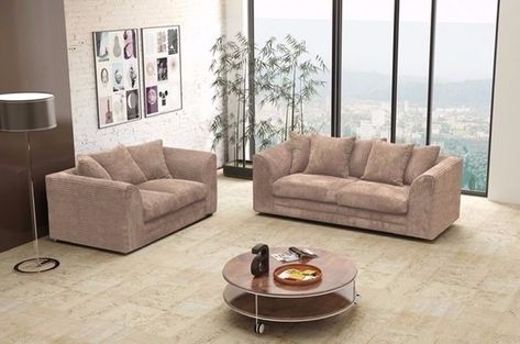 Uk Top Selling Brand Brand New Dylan Jumbo Cord Fabric 3 And 2 Or Corner Sofa Set In Bromley London Gumtree Sofa Set Corner Sofa Set 2 Seater Corner Sofa