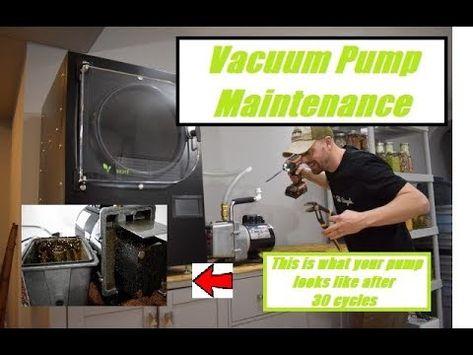 Harvest Right Vacuum Pump Maintenance After 30 Cycles Vacuum Pump Freeze Drying Food Harvest Right Freeze Dryer