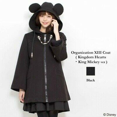 Authentic Secret Honey Mickey Organization Xiii Kingdom Coat Clothes For Women Fashion Clothes