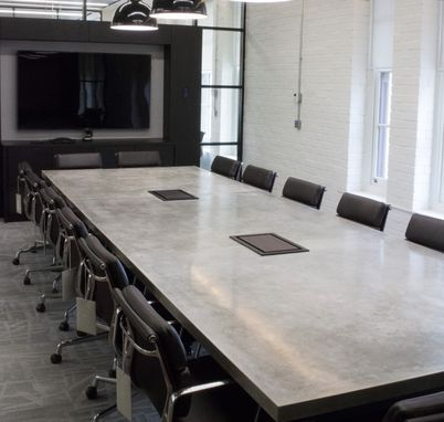 Custom Made Concrete Conference Room Table Meeting Room Table Concrete Furniture Design Conference Room Table