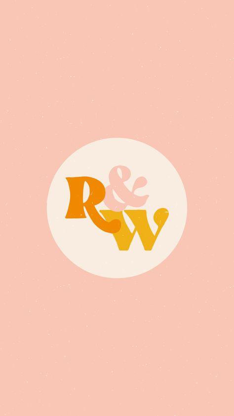 Typography Logo Design | Circle Icon Logo