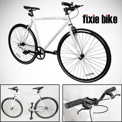 Create Bike Fixie C8 Aero Fixed Gear Alloy Frame Road Bike 48cm