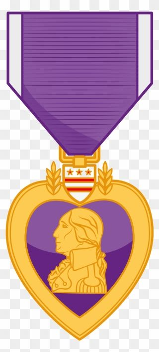 Purple Heart Award Clipart Png Download In 2020 Purple Heart Award Clip Art Purple Heart