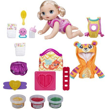 Baby Alive Baby Go Bye Bye Blonde Super Snacks Treat Time Snack Pack Baby Alive Dolls Christmas Gifts For Girls Baby Alive